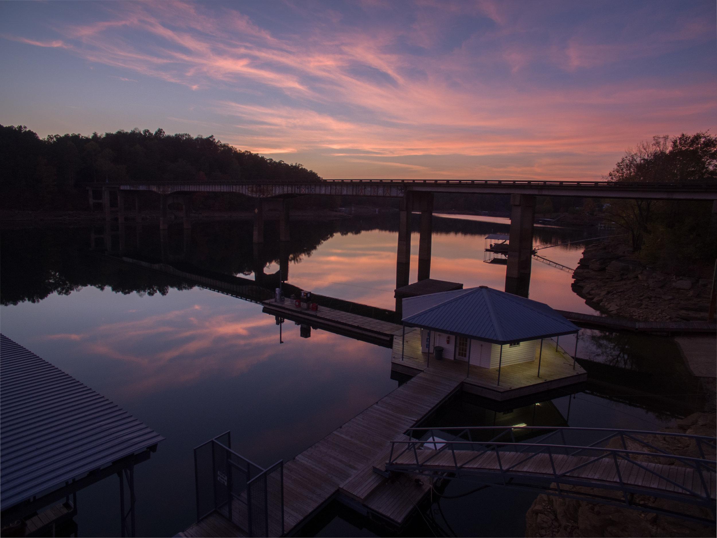 Big Bridge on Smith Lake
