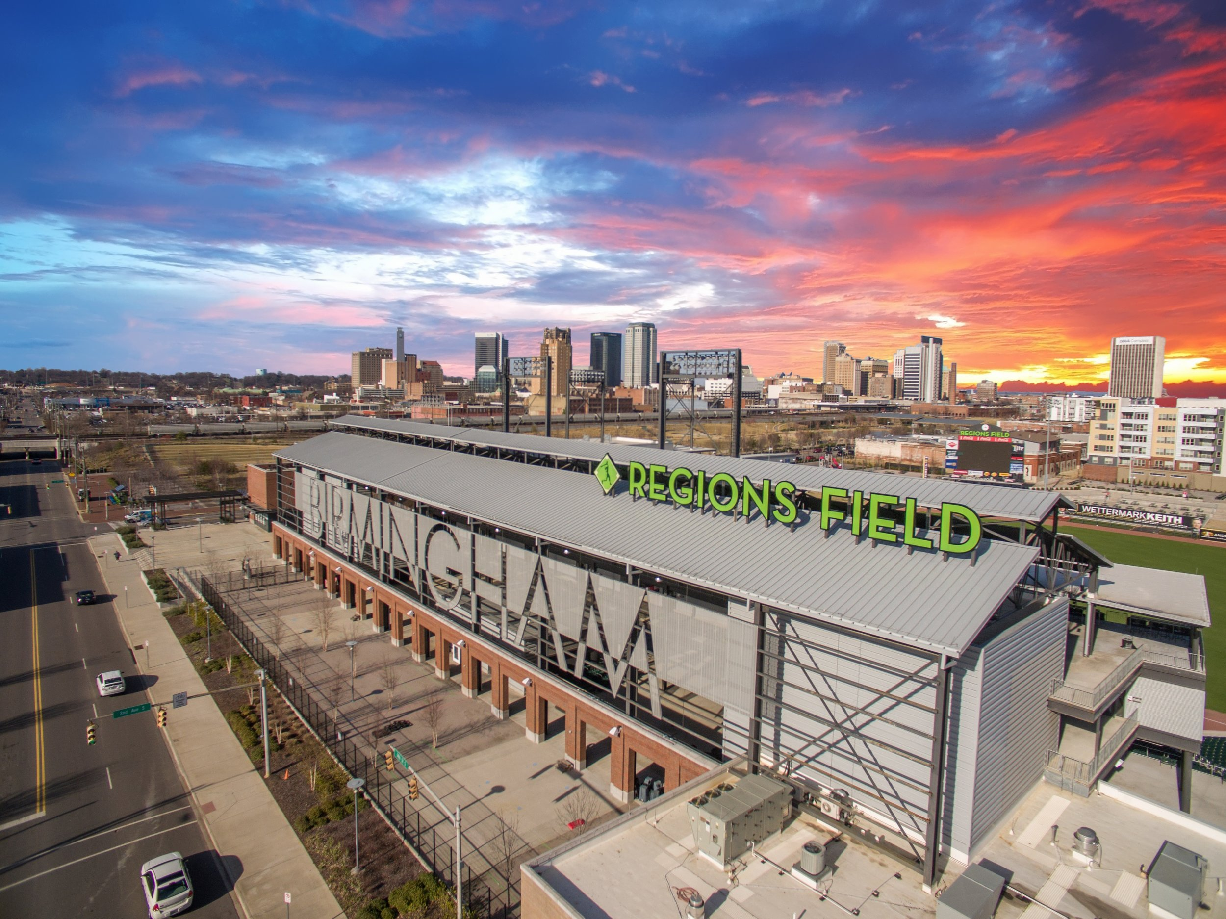 Regions Field Birmingham Alabama