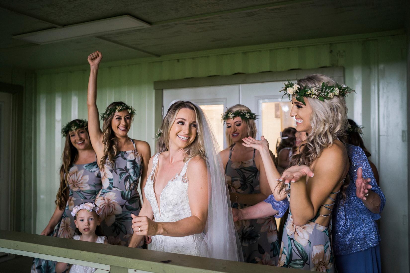 bridesmaids Kualoa