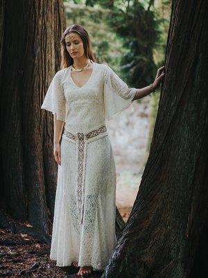 Pagan Wedding Dresses.Pagan Queen Handfasting Wedding Dress Free Spirited Celtic Design