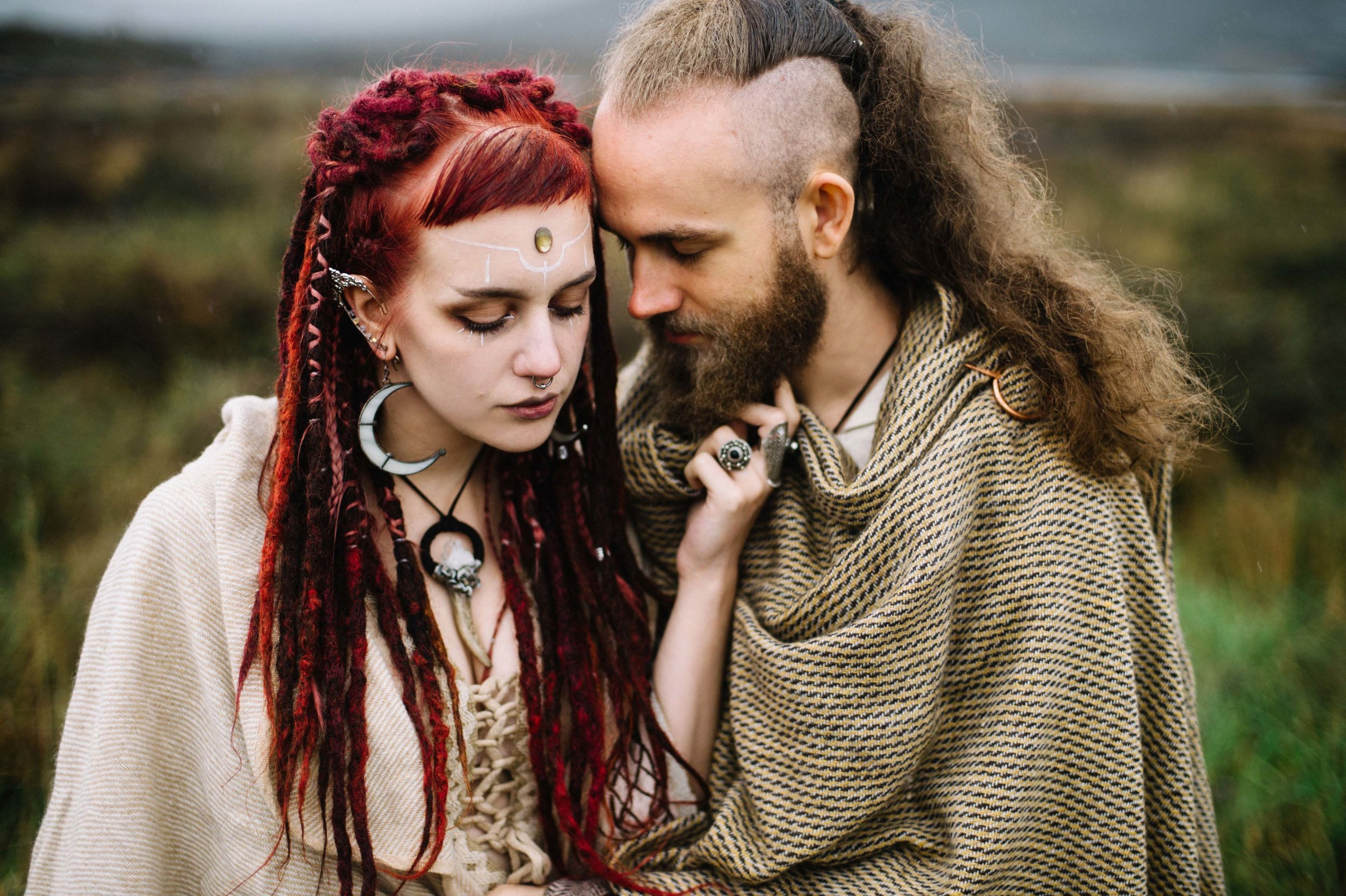 Manic Moth and Leon Balmes Modelling celtic Fusion Photography by Kate Bean Photography