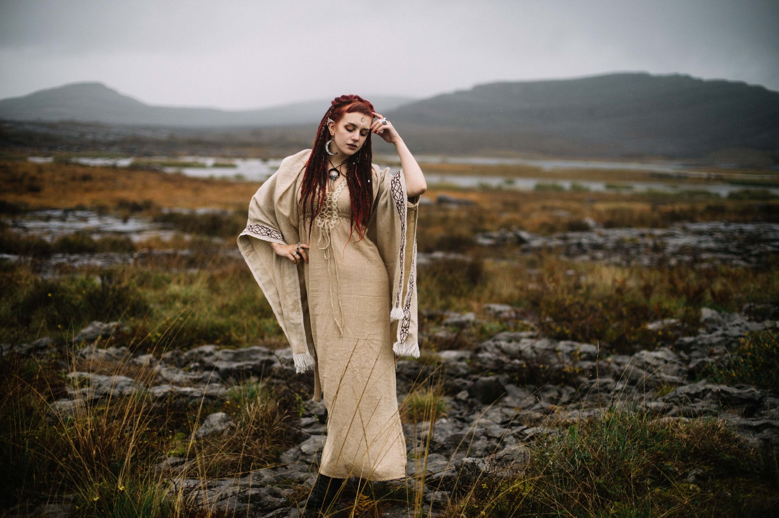 Photography by Kate Bean photoshoot in the Burren.