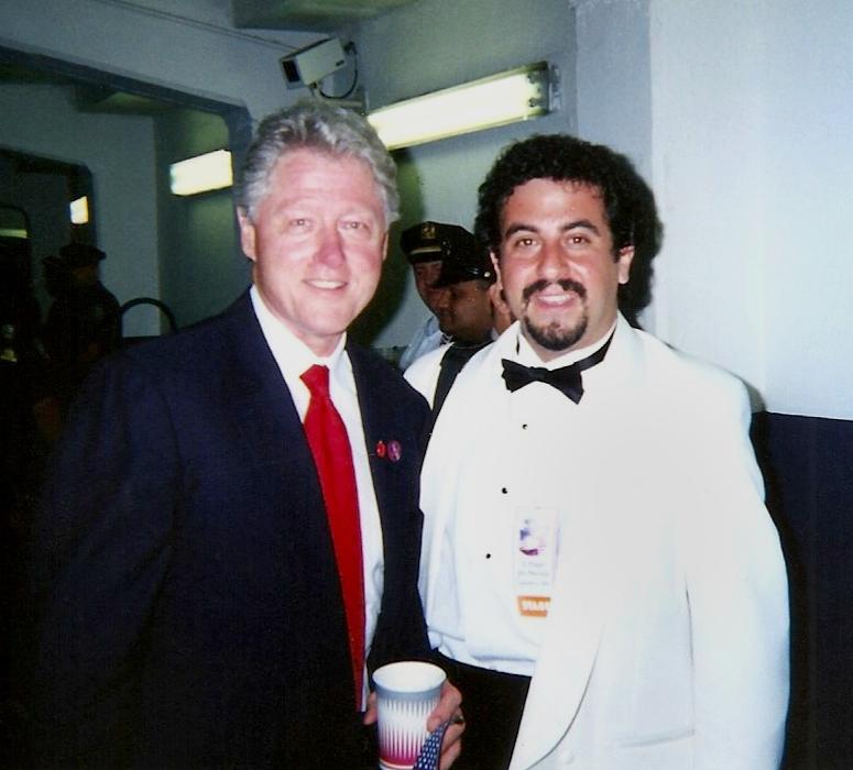 With PresidentBill Clinton