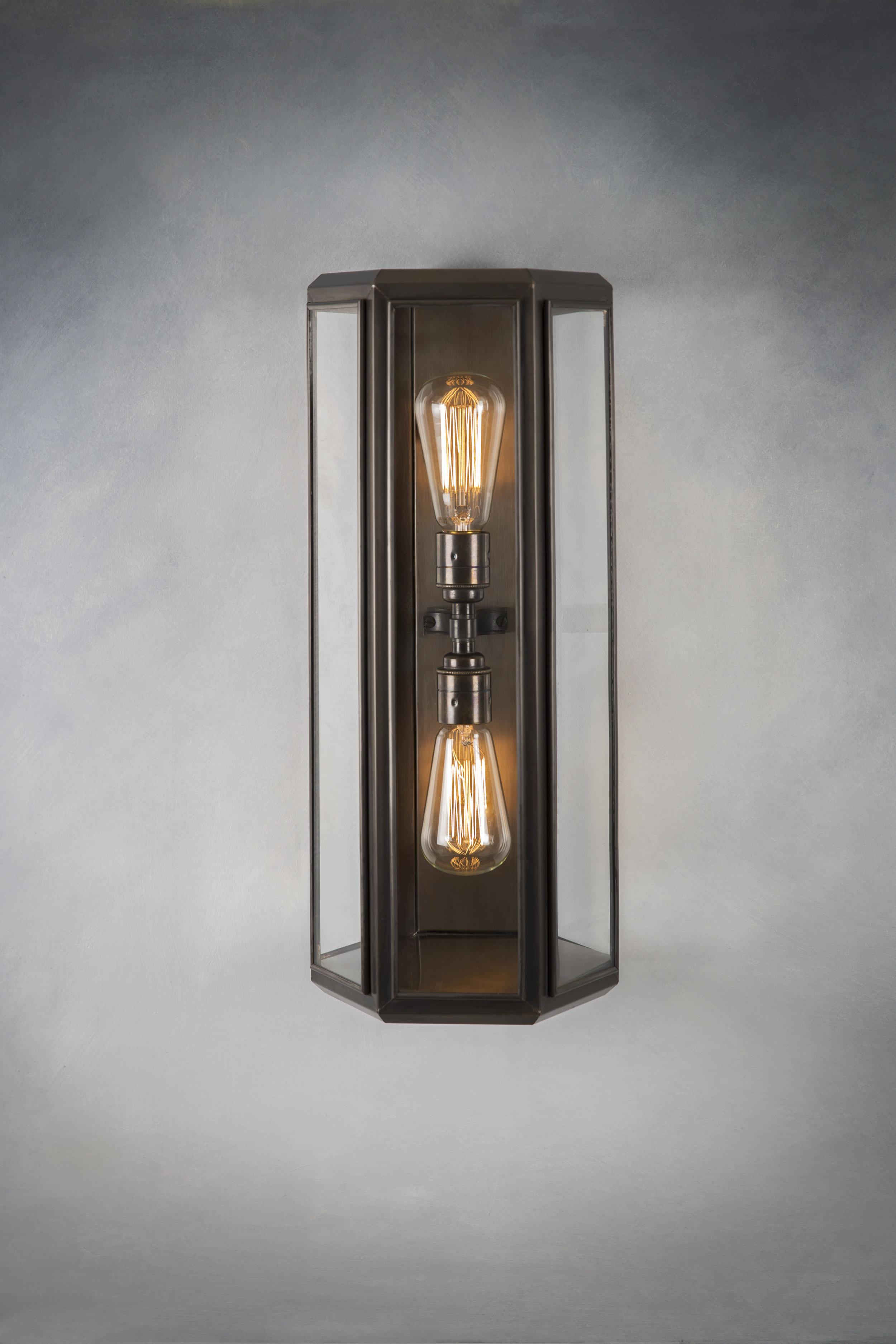 Oak Wall Light