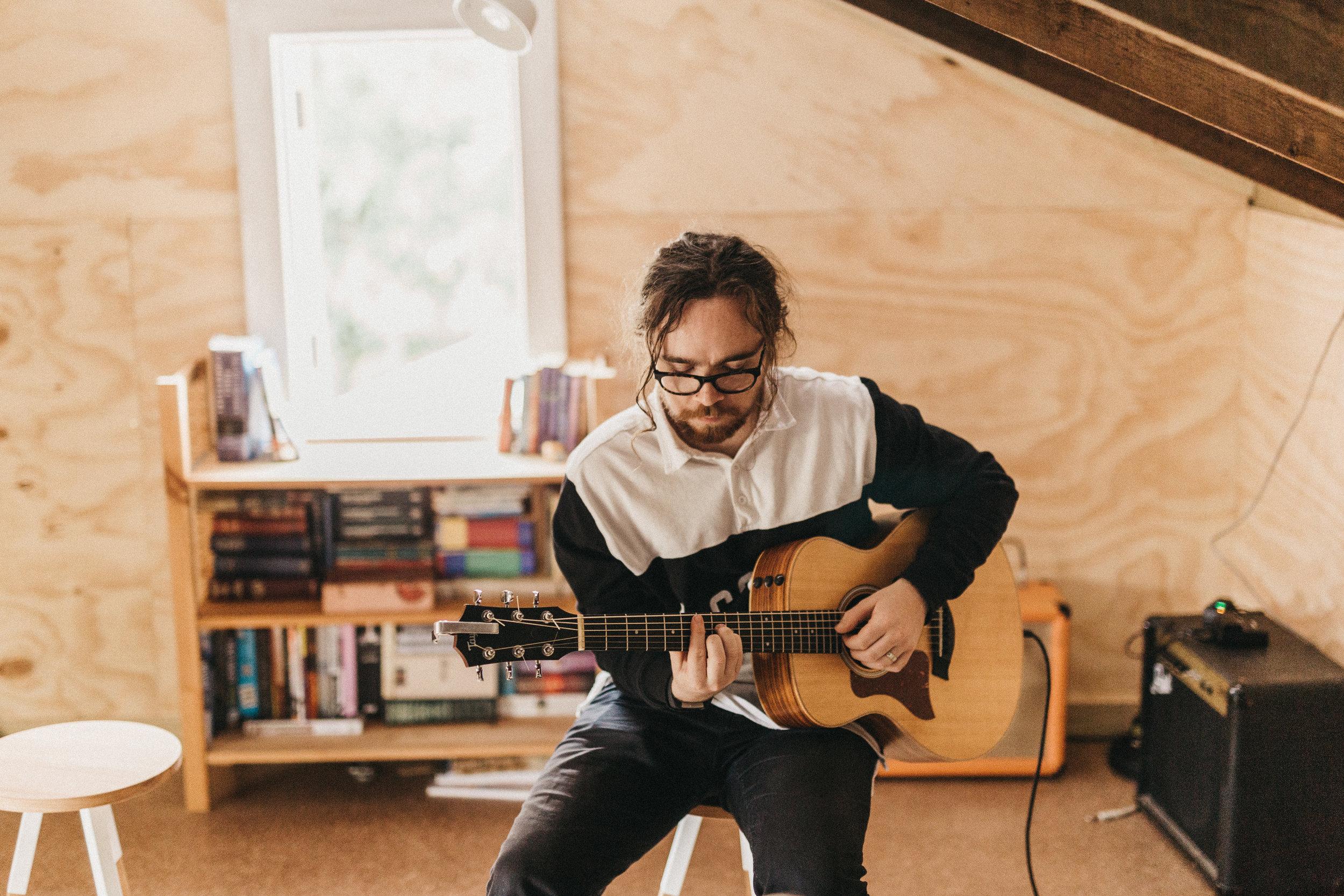 Mike Bell: Guitar, Egg Shaker, Stomp Box.