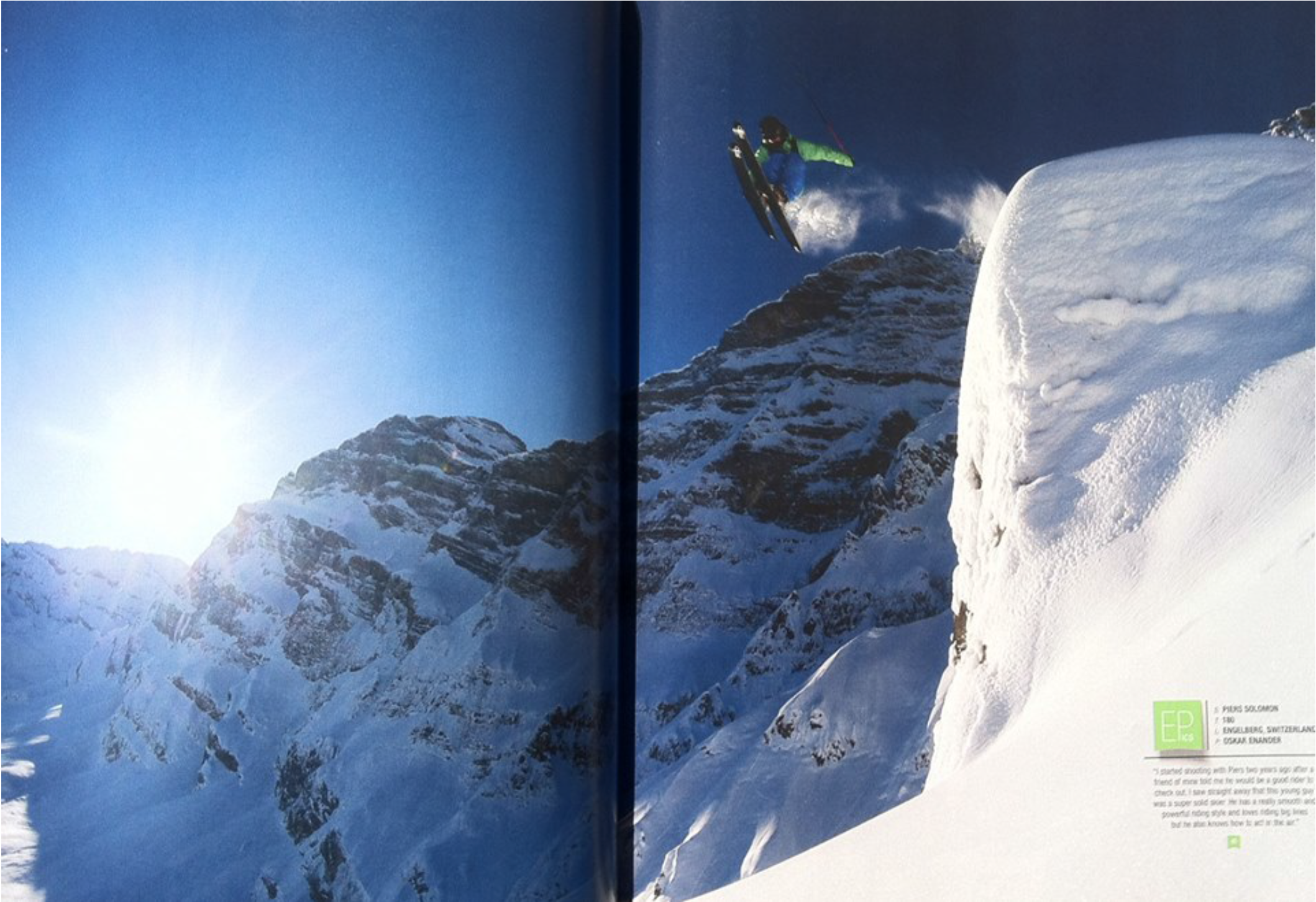 """Freeskier"" Magazine"