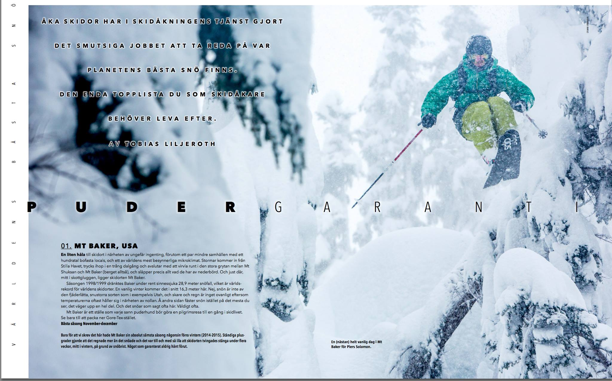 """""""Aka Skidor"""" Magazine (SWE)"""