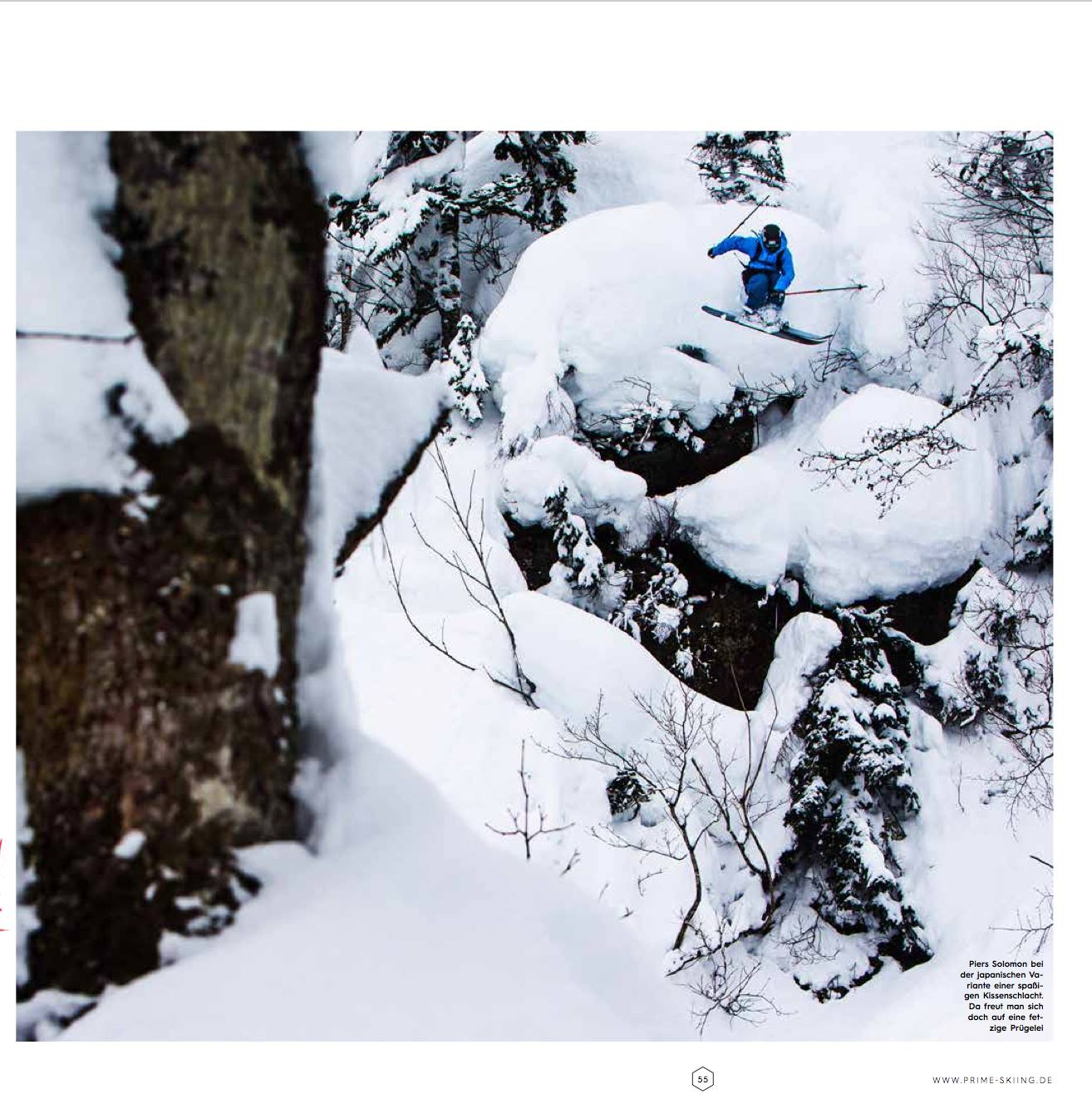 """Prime Skiing"" Magazine (GER)"