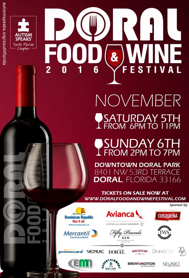 Doral Food & Wine Tasting Miami
