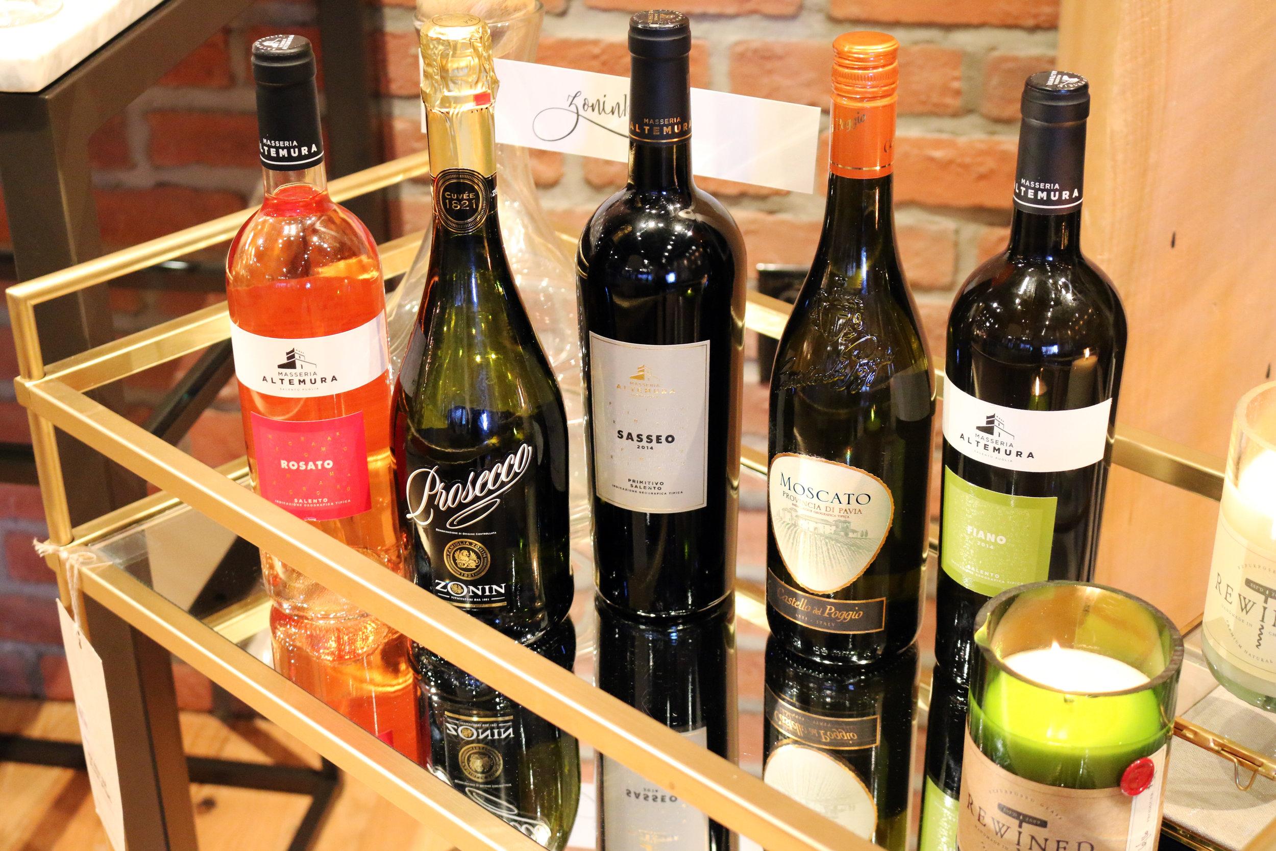 Miami wine events with ZONIN1821 wines