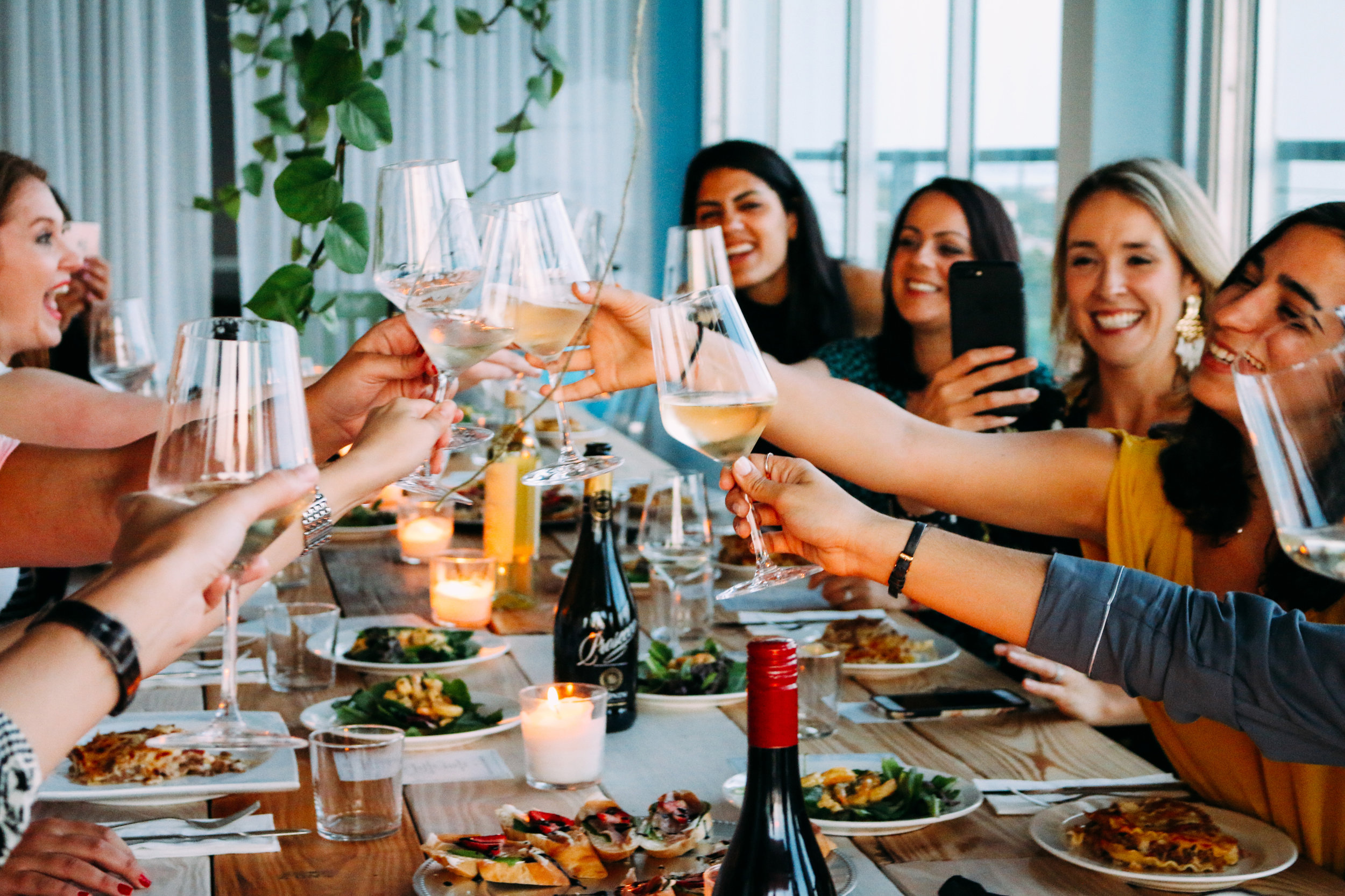 """Women Who Wine """"Uncorked Conversations"""" at The Loft 305 4.27.17"""