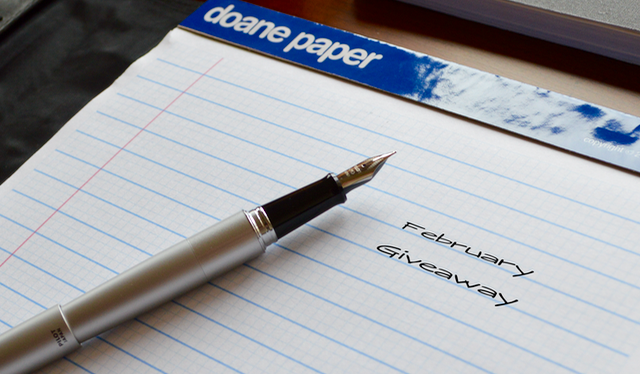 Doane Paper Pad and Silver Pilot Metro Pen