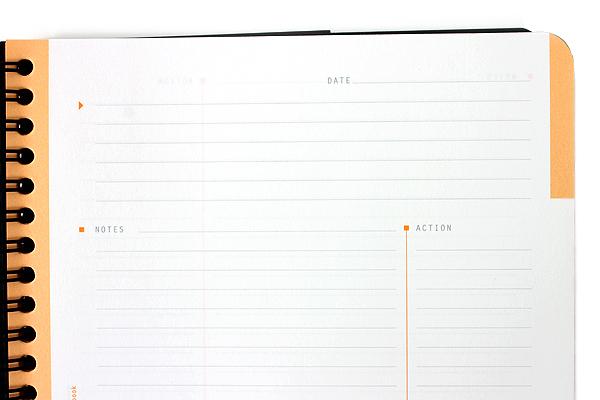 Rhodia Meeting Notebook