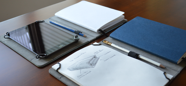 Notebook Folio Launch Day - Click to see video and project page