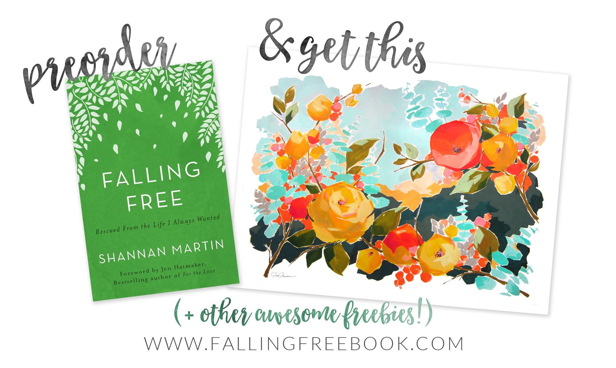 Preorder Falling Free & Get a free art print download