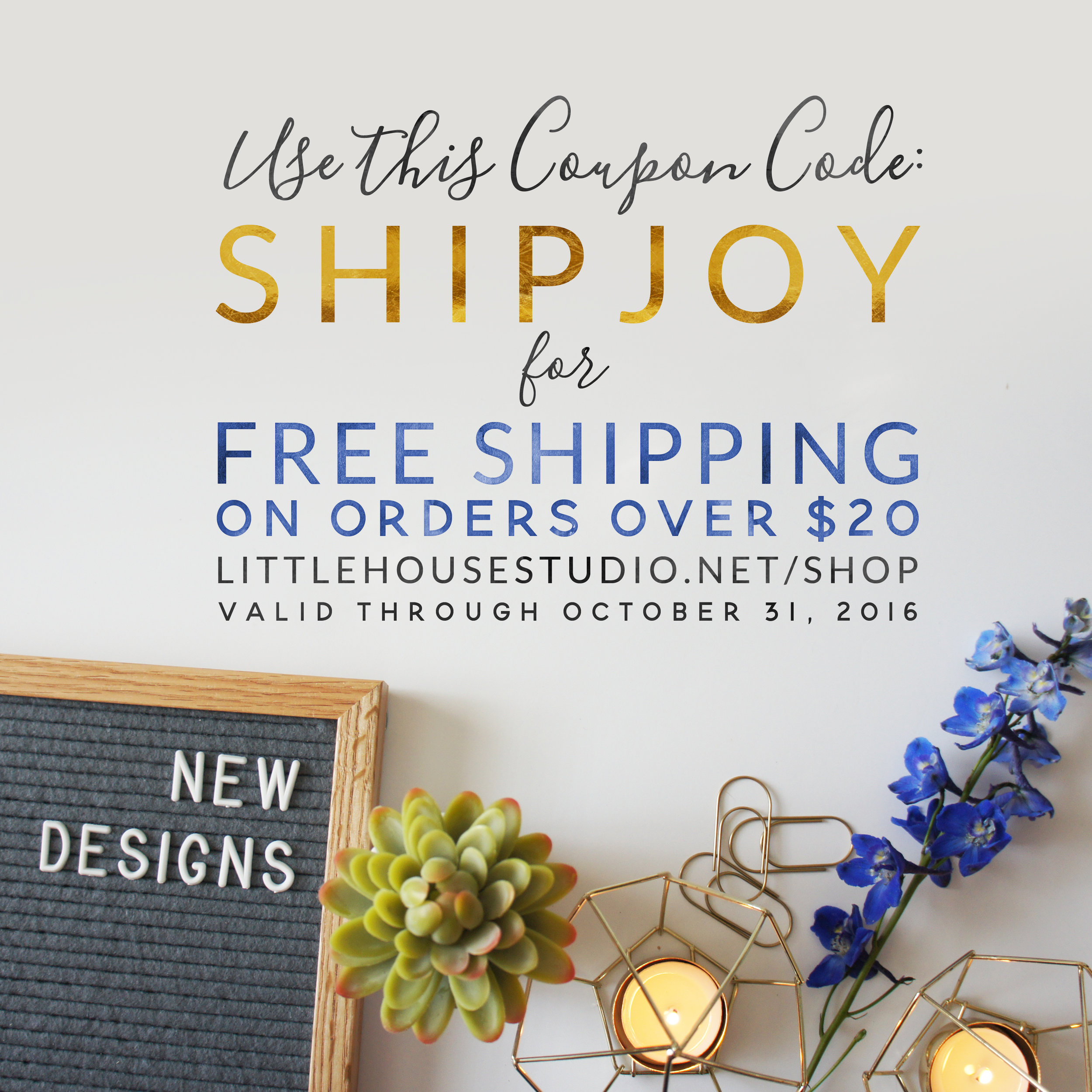 Shop now and get FREE SHIPPING on all orders over $20!