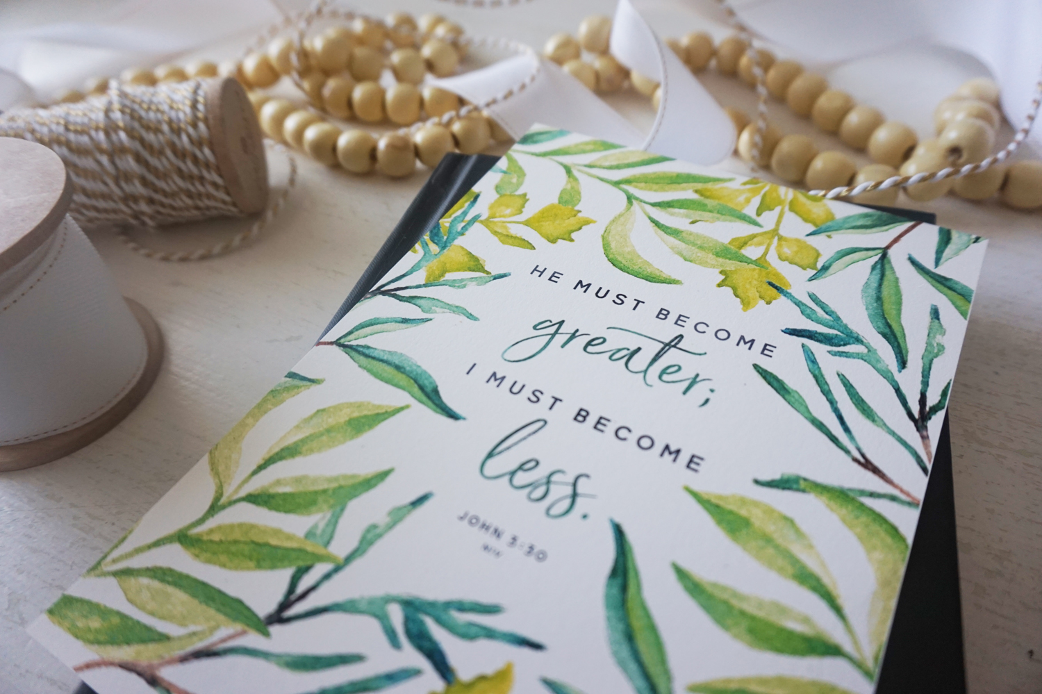 One Word 2017: Small || Little House Studio