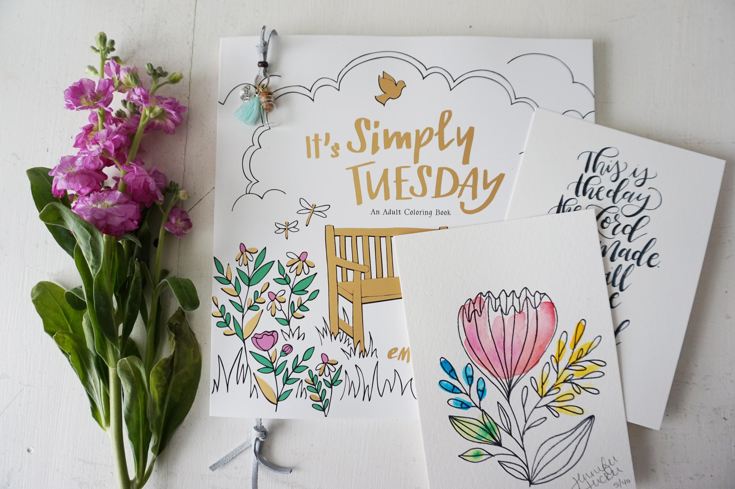 It's Simply Tuesday Pre-Order Bonuses || Little House Studio
