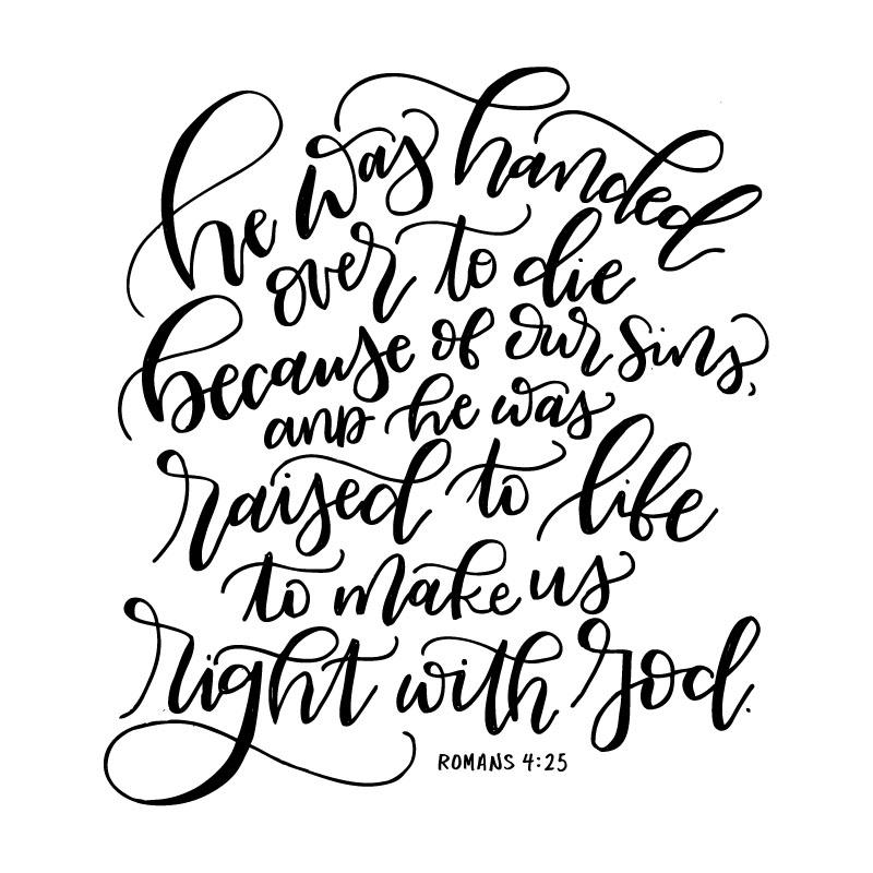 Romans 4:25