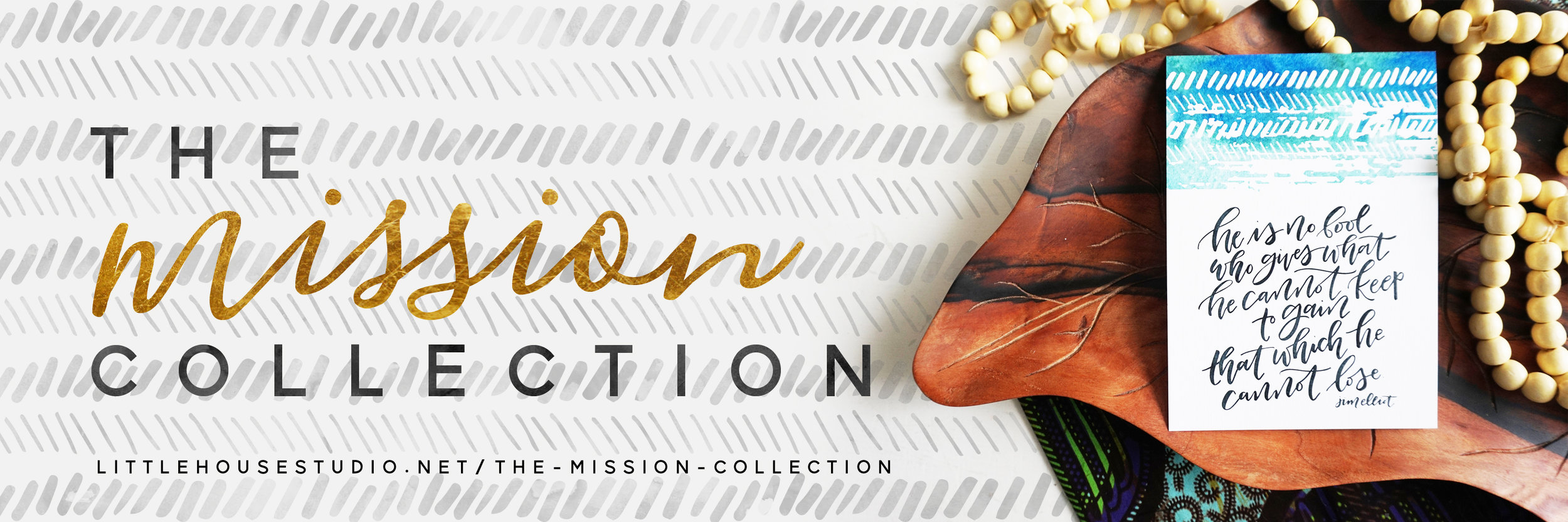 The New Mission Collection  - a portion of all proceeds go toward  missions work in Togo, Africa