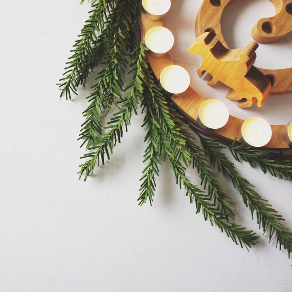 Cradle to Cross Wreath by  JoyWares