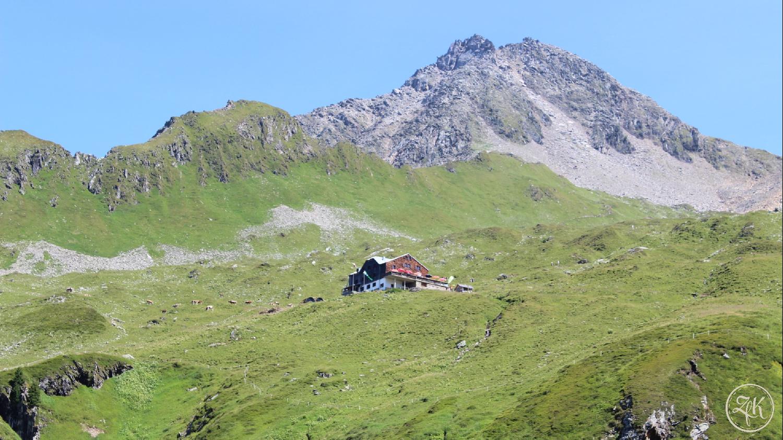 Die Zillertaler Alpen bei Mayrhofen
