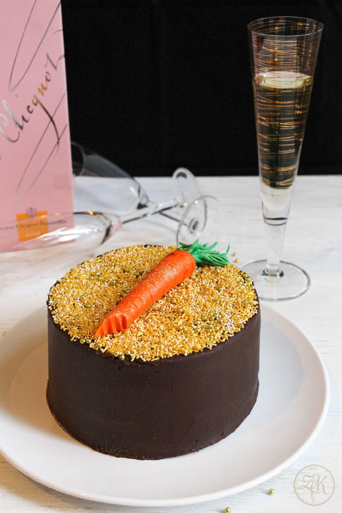 Ein Guinnesstörtchen mit Schokoladenganache