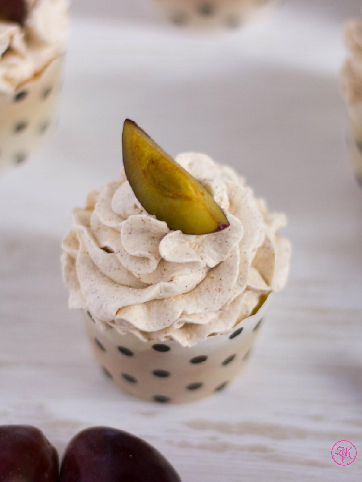 Zwetschgen-Cupcakes