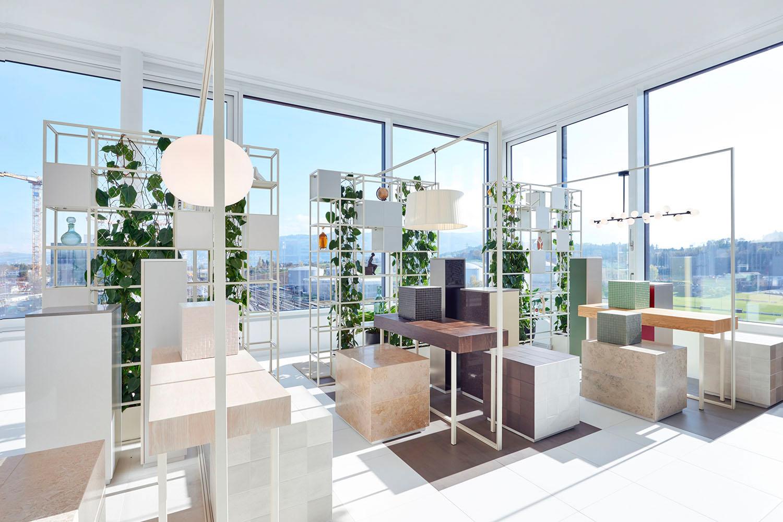 "Showroom, Gartenhochhaus ""Aglaya"", Zug Estates AG"