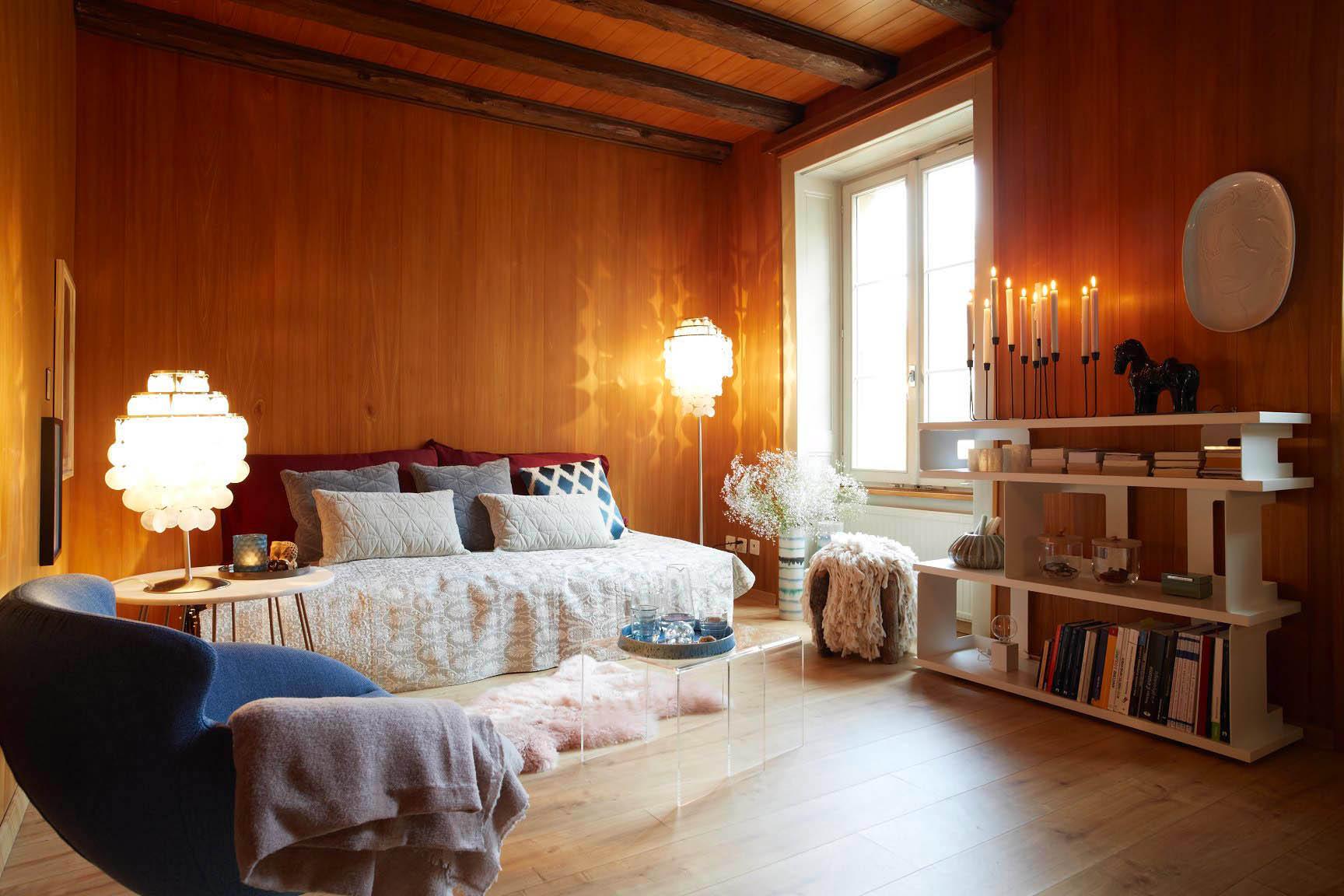 Umgestaltung Privatwohnung, Wohnzimmer, Pfister Swiss Design