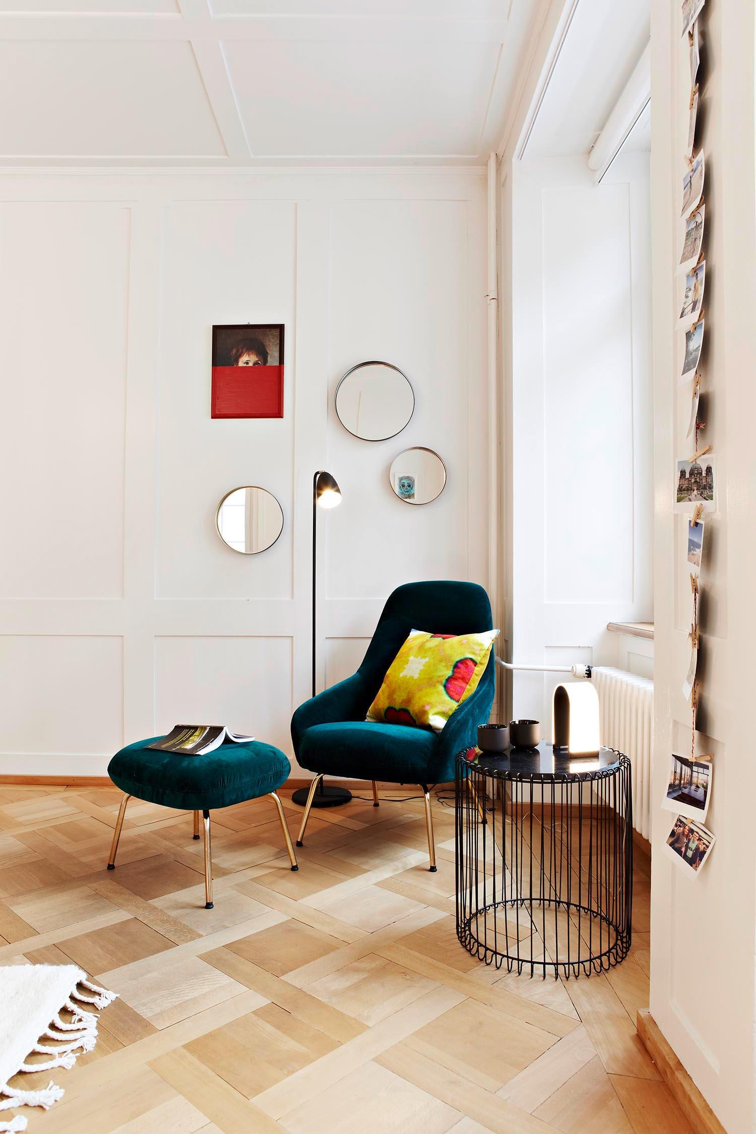Umgestaltung Privatwohnung, Wohnzimmer Detail, Pfister Swiss Design