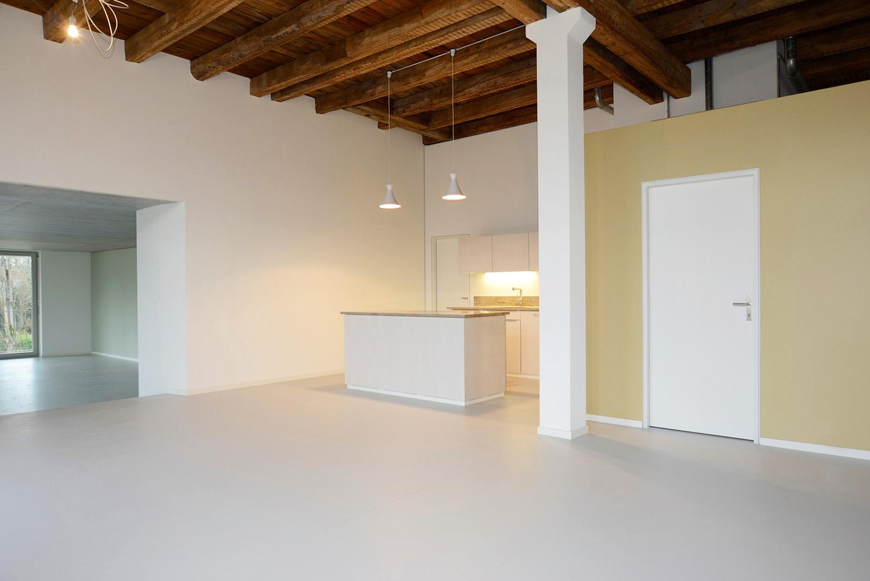 Ausbau, Musterloft, Wohnzimmer - Küche