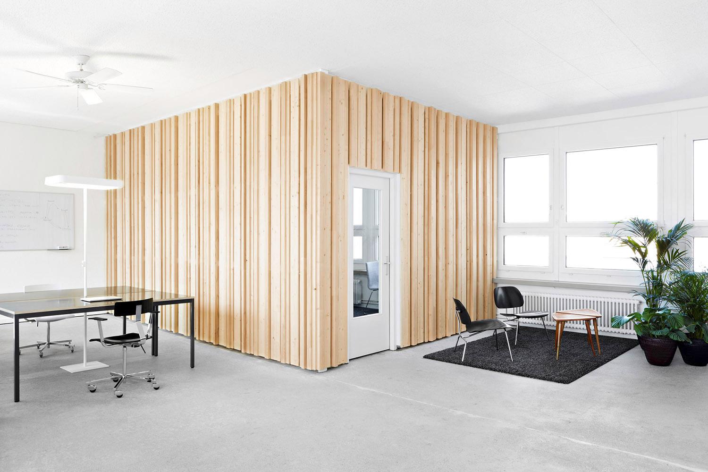 Büroumbau Scandit Zürich, Besprechungszimmer, Bürobereich,