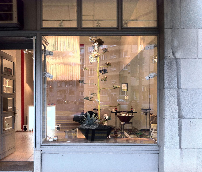 Aveda Installation Breeze, Aussenansicht, Zürich