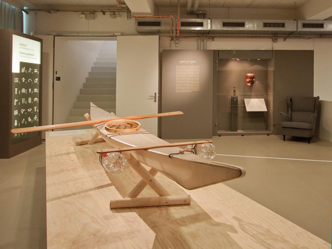 Ausstellungsgestaltung, Eingangsbereich