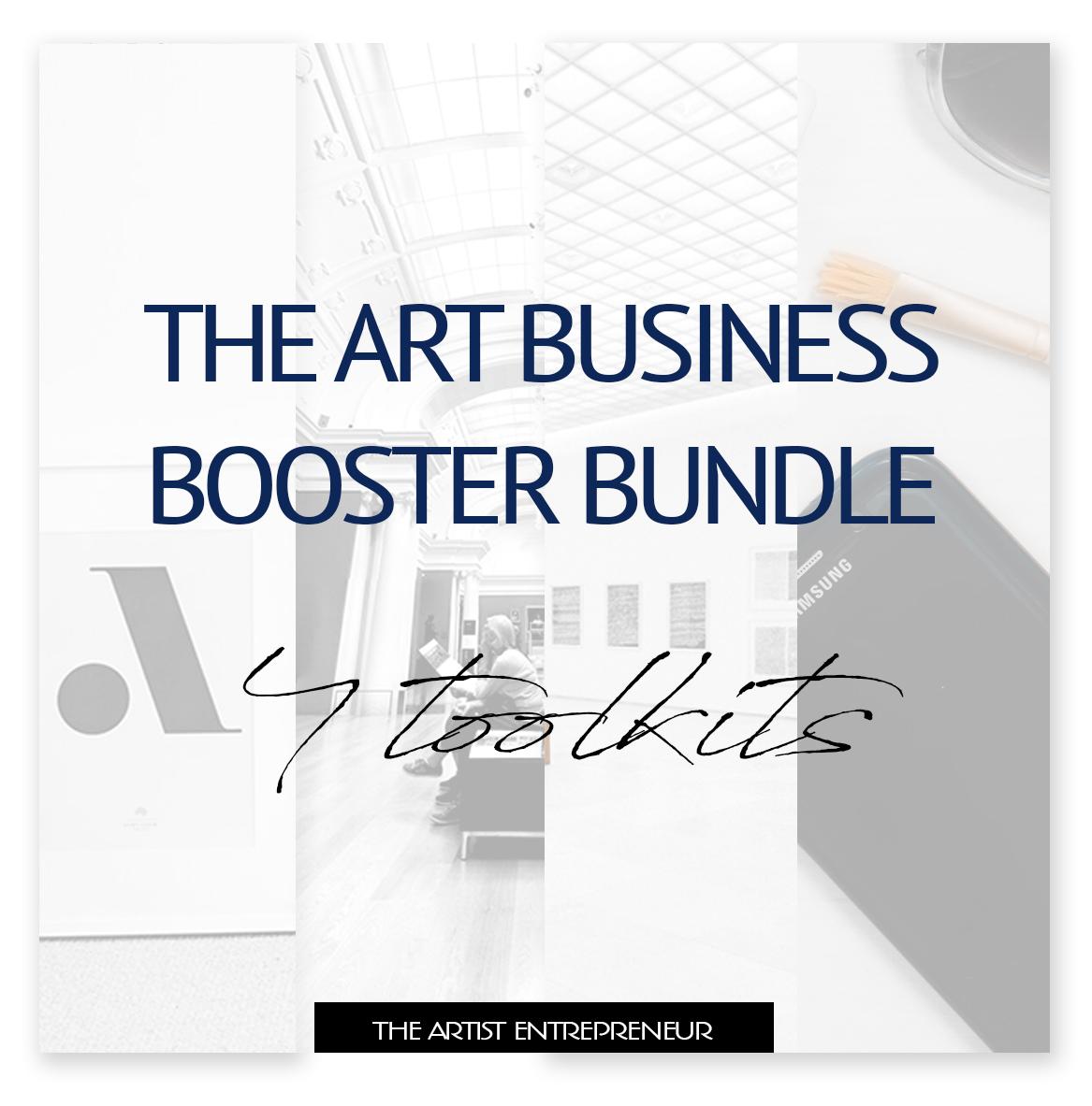 the art business bosster bundle_the artist entrepreneur_toolkit_for artists_catherine orer.jpg
