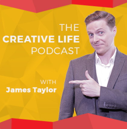 the creative life podcast catherine orer the artist entrepreneur james taylor.jpg