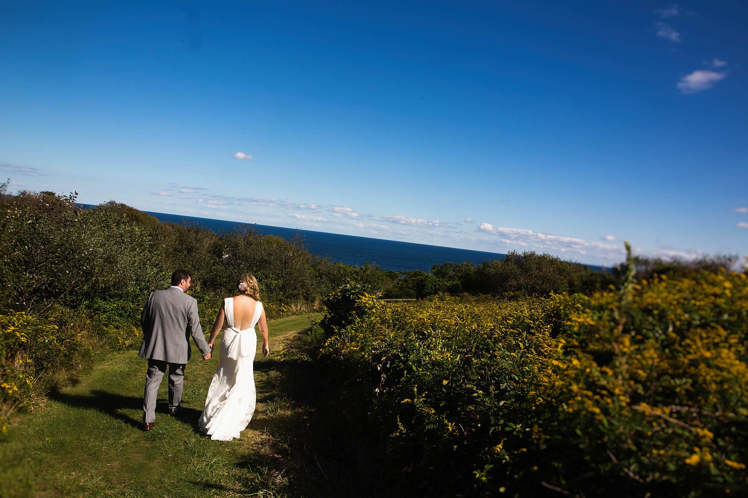 Wedding at The Spring House on Block Island, Rhode Island -