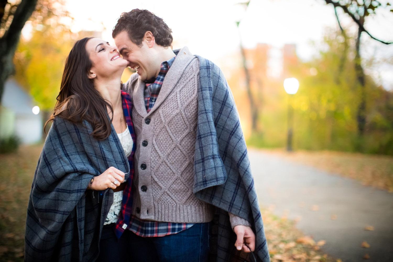 Central Park Engagement -
