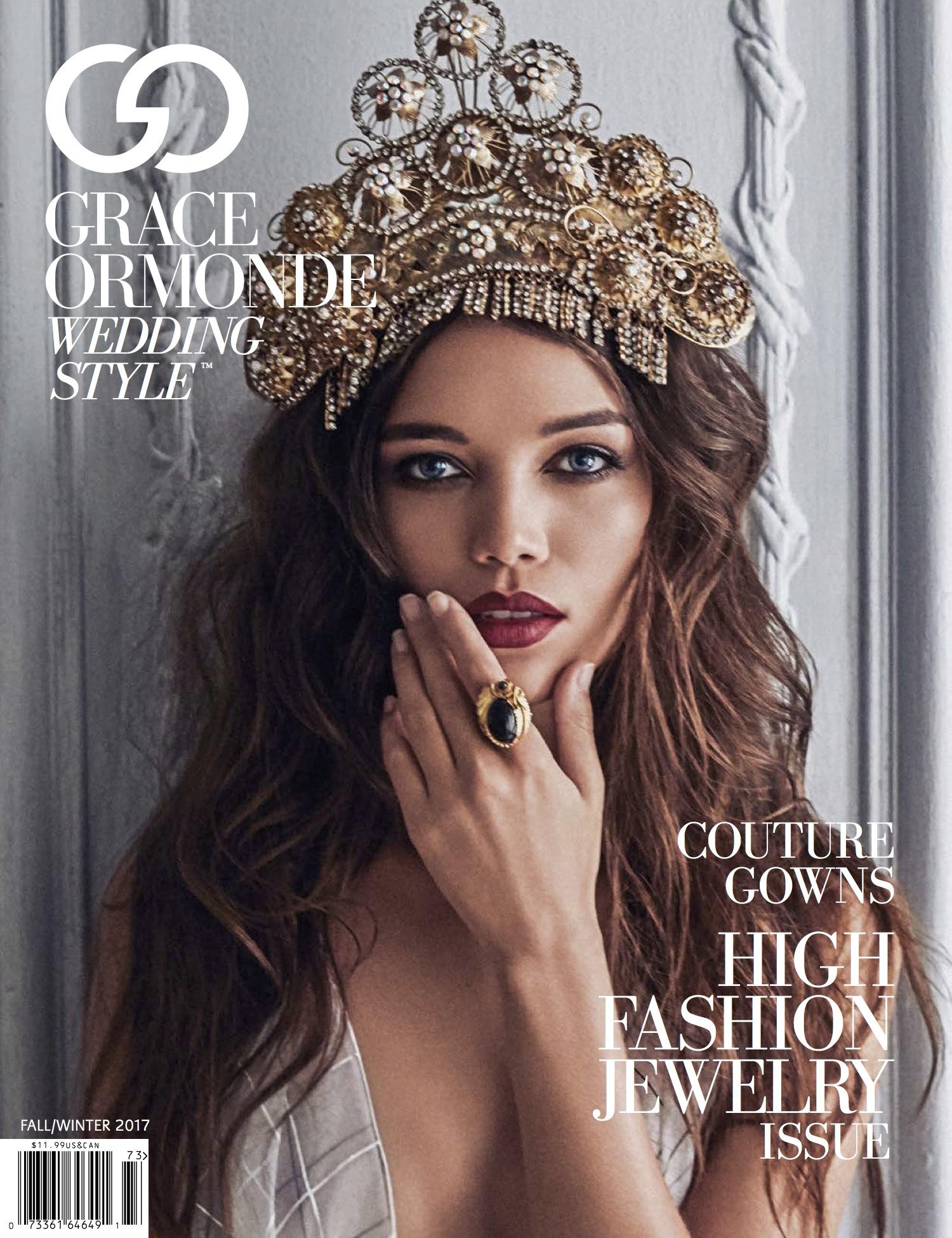 Grace Ormonde Magazine Fall 2017 cover