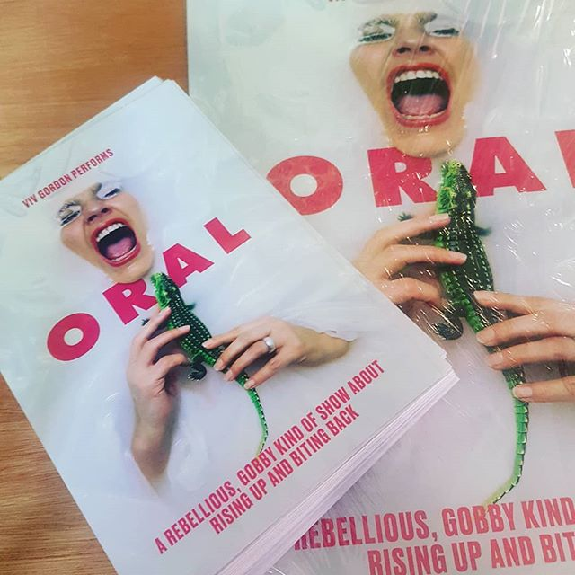 Print arrival!! @vivgordonmfd #ORAL #careanddestruction #TSOTF19