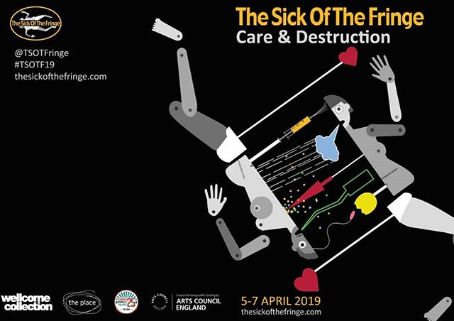 Super proud to be presenting some of the most exciting & pressing voices looking at health & social justice at our 2nd London programme: #CareandDestruction  5-7 April  #TSOTF19  Keep an eye out for details of all the #CriticalConversations #Performances https://t.co/tMaLh3SjCw