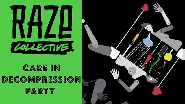 On Saturday @razecollective will be taking over @camdenpeoplestheatre for THE mid-festival party of #CareandDestruction. Expect Queer performance in all it's glorious forms, brilliant DJs and late night bar opening💃 £5 tickets