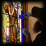 Washington Times   Addison church's new stained glass windows