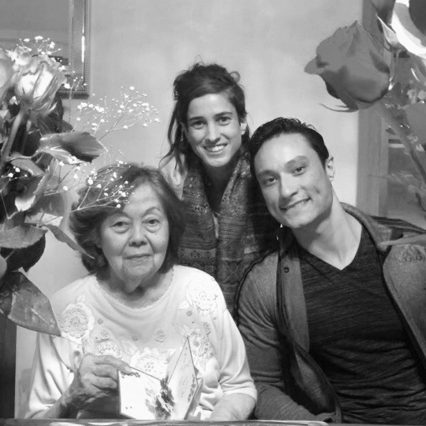 """Celebrating my grandma Jenny, who we always just called Oma (Dutch for """"grandma""""), along with my cousin Eve, on Mother's Day."""