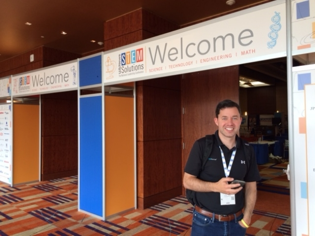STEM Premier Co-Founder Casey Welch at the STEM Solutions Conference