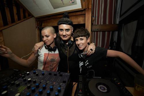 Maya Schenk, Michelle Manetti & MissB