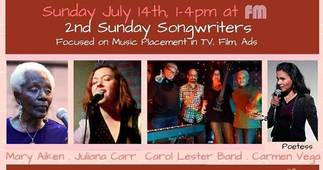 Dude. I'm getting pumped for this Sunday...where I will be featured among these women for 2nd Sunday Songwriters @fmjerseycity hosted by @carollesterproductions.  And as if that wasn't enough, I'm playing for #grooveongrove in downtown jersey city on Wednesday! Can't wait to share space with fellow songwriters!!