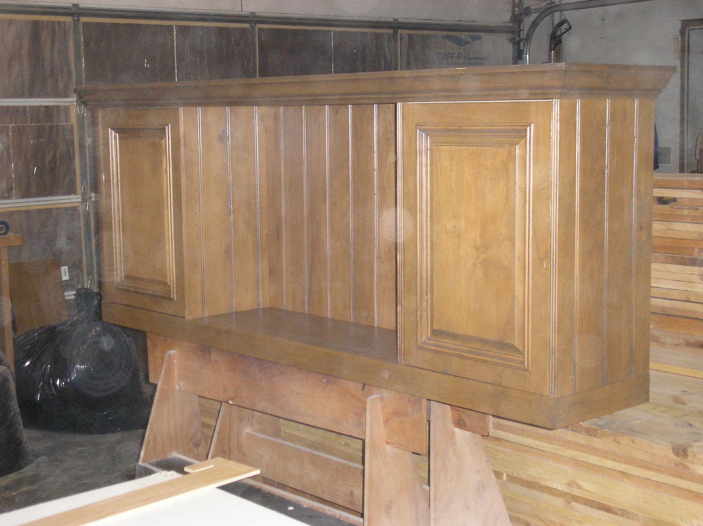 Distressed alder wall cabinet.JPG