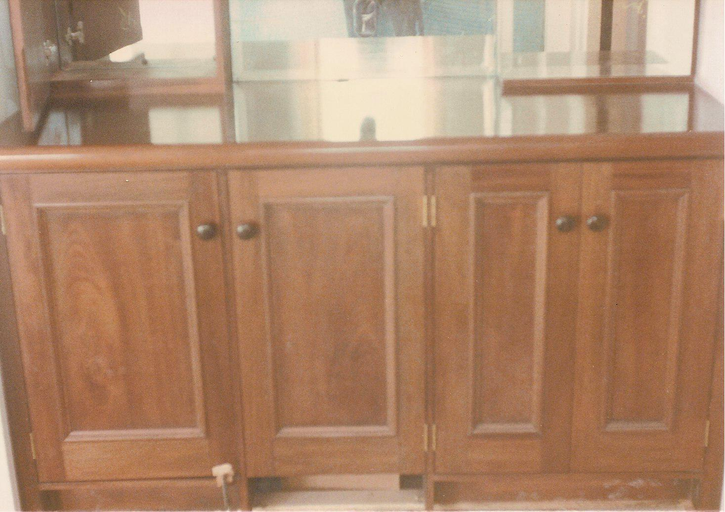 Mahogany back bar cabinet goes with serpentine.jpg